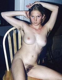 bushy hairy pussy and heavy hanger tits fucking