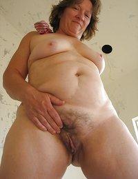 bushy pussy natural tits