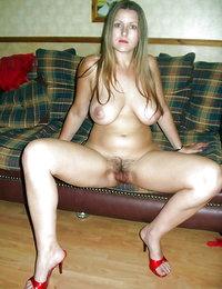 big bushy pussy nude