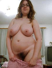 thick bushy strawberry blonde pussy